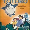 Le vendredi 21 octobre 2011, sortie cinéma : mon voisin totoro