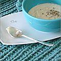 Crème de chou-fleur & bleu