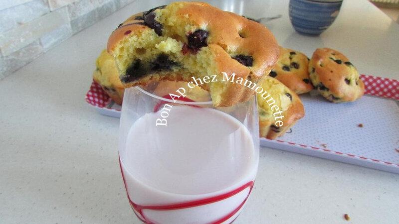 Petits gâteaux aux myrtilles 020
