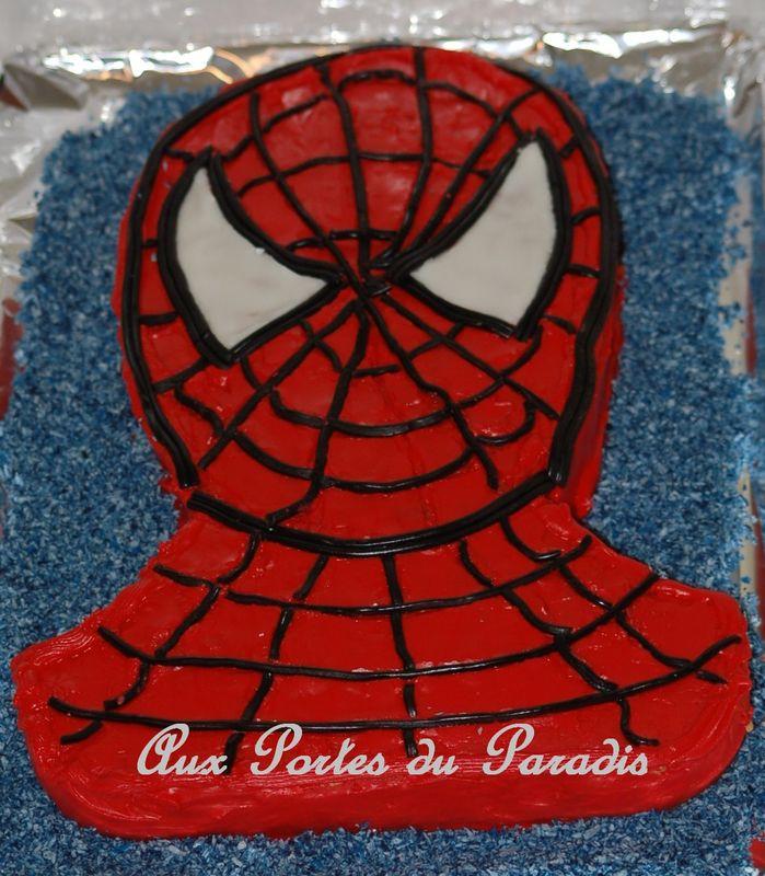 Gateau D Anniversaire Spiderman Aux Portes Du Paradis