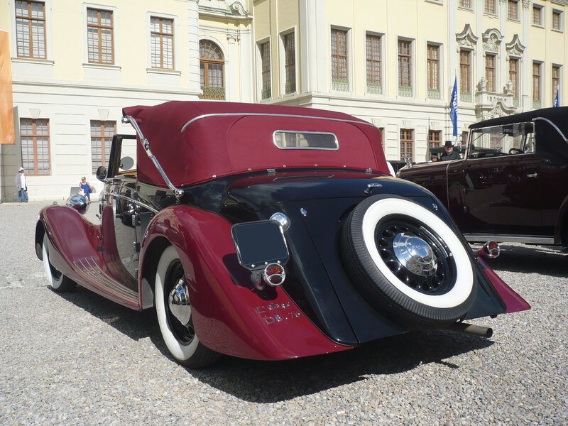 DELAGE type D6-75 cabriolet Coachcraft 1939 Ludwigsburg (2)