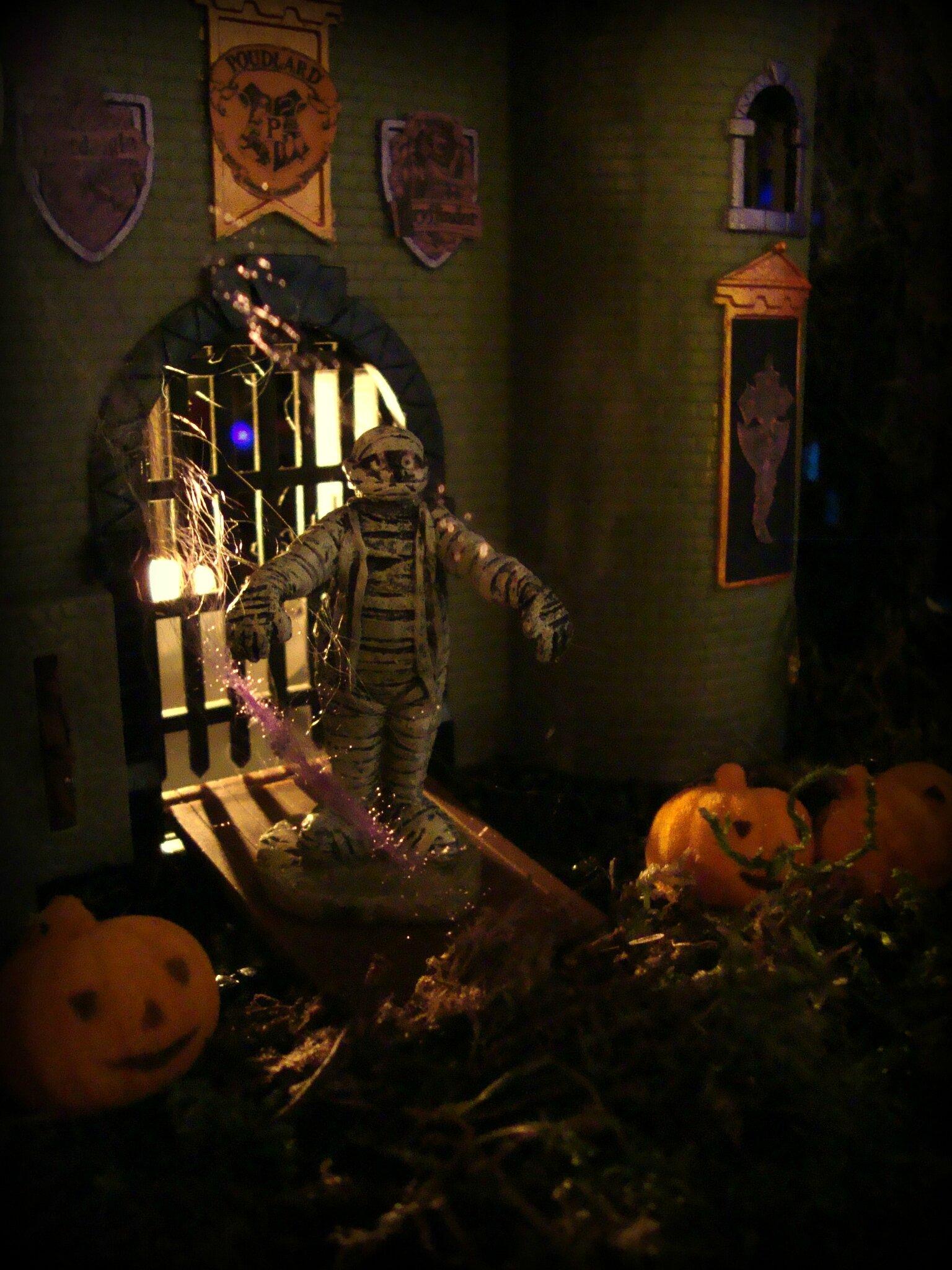 Une partie du decor Halloween 2012