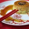 Crème caramel japonisante