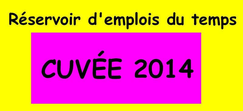 cuvees 2014