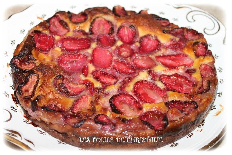 Clafoutis fraises 2