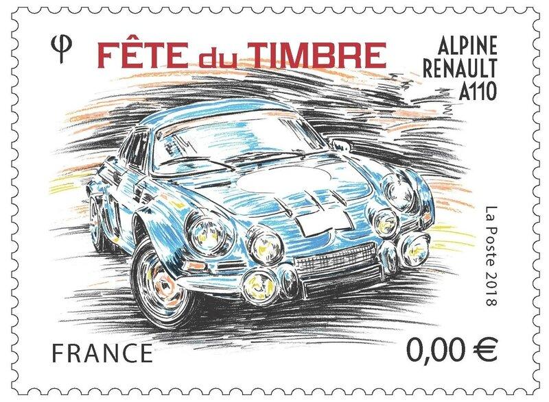 rédélé 2018 voeux timbre