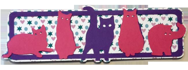 marque page tribu de chats (2) copie