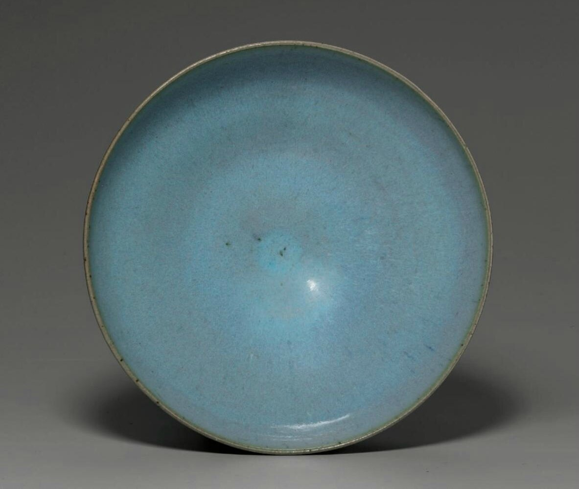 A large Jun bowl, Jin dynasty (1115-1234)