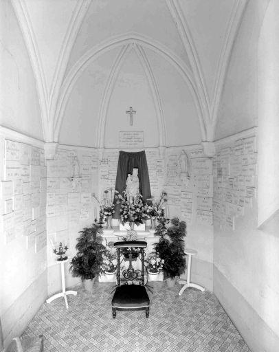 Rennes, Chapelle Notre Dame des Brûlons, intérieur