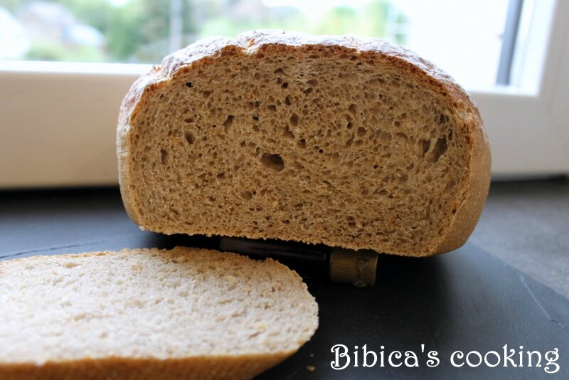 Pain de campagne {au Cook'in} coupe