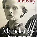 Manderley for ever, tatiana de rosnay