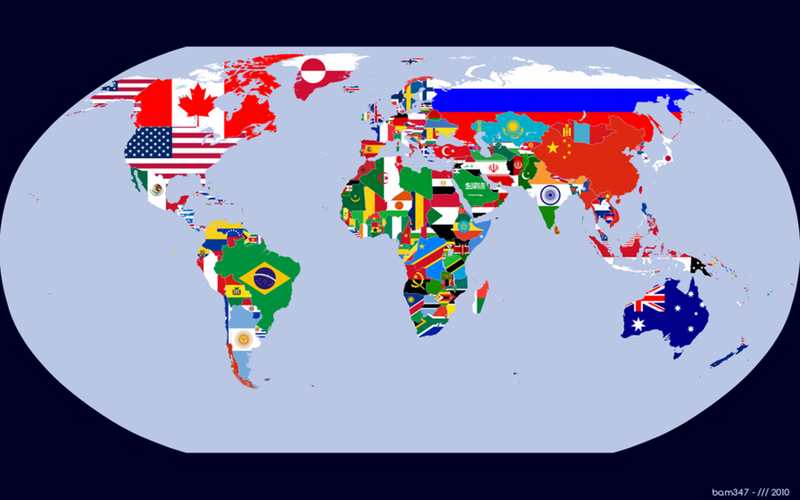 Flag_Map_of_the_World_by_bam347