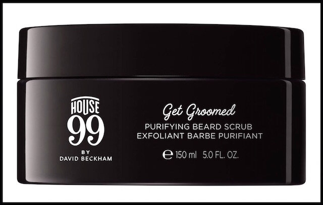 house 99 by david beckham exfoliant barbe purifiant