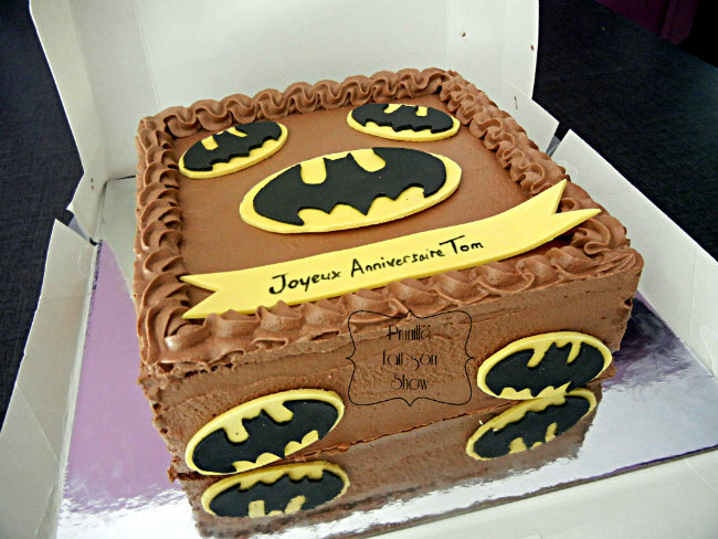gateau batman prunille 1