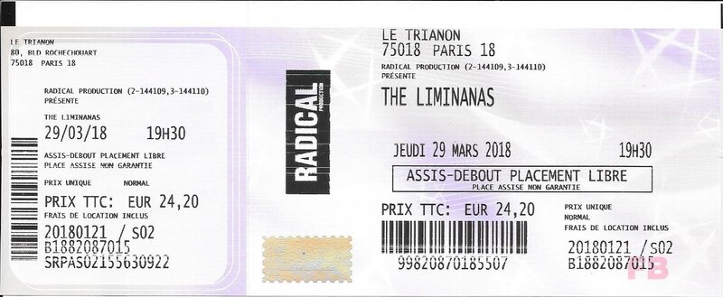 2018 03 29 The Limiñanas Trianon