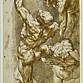 Sir peter paul rubens (siegen 1577 - 1640 antwerp), anatomical studies of three male figures