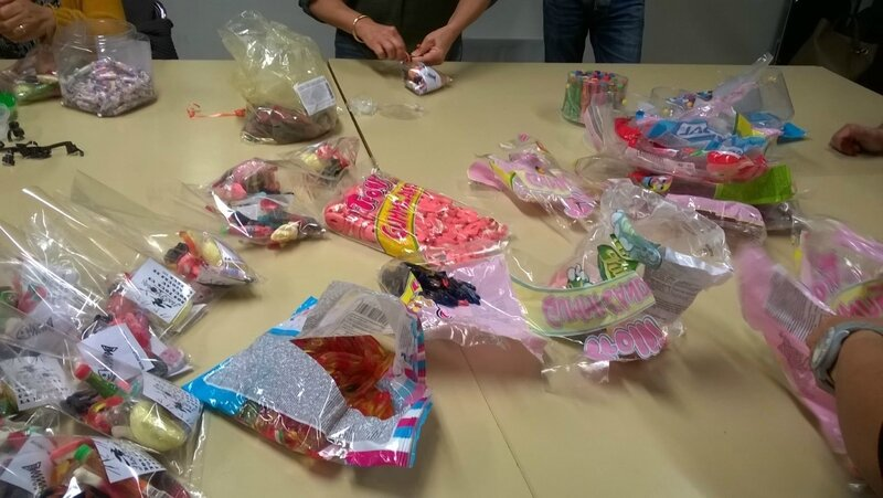 emballages bonbons