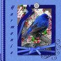 Harmonie de bleu
