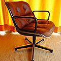 fauteuil design pollock, pour knoll