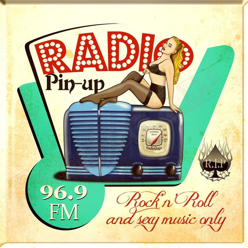 Radio Pin-up copyright