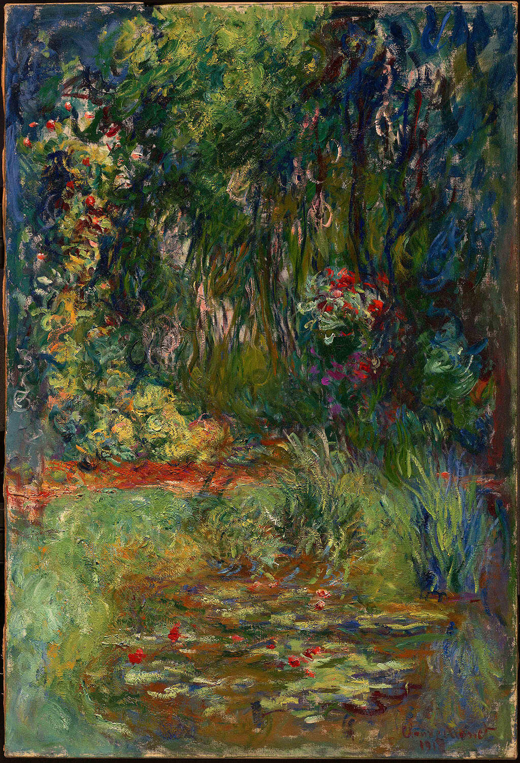 Internationally acclaimed exhibition reveals the radical evolution of  Monet's final decade - Alain.R.Truong