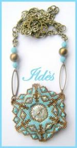 collier inspiration turquoise bronze 1