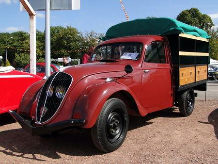 PEUGEOT 202 UH Camionnette Bachee 1949 Bourse de Crehange 2009 1