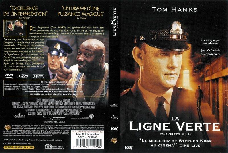 Jaquette La Ligne Verte (1999)