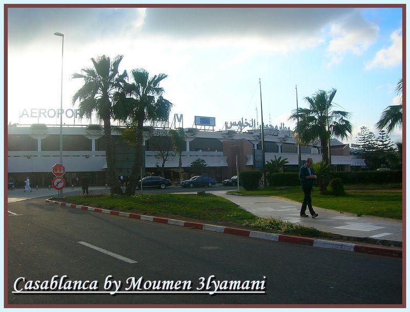 Aéroôrt Mohammed V Casablanca