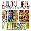 Nouvel article ! salon ardu fil !