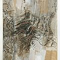Montage de sacs de farine 182 x 109 cm