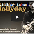 Laisse les filles - johnny hallyday (partition - sheet music)