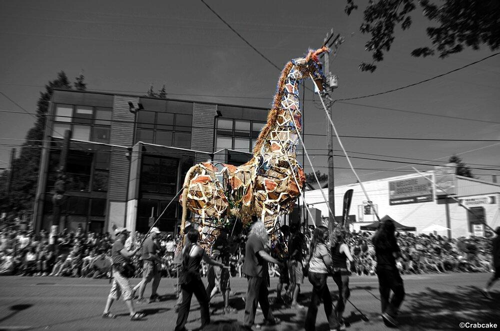 Fremont Fair Solstice Parade 12