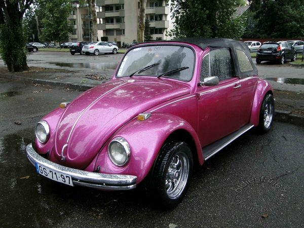 volkswagen coccinelle 1300 transformable 1967 a