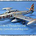 F-84 g thunderjet
