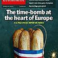 Revue de presse: la france, bombe à retardement de l'europe