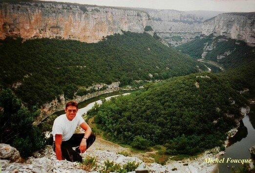1274) Balade pédestre aux Gorges de l'Ardèche