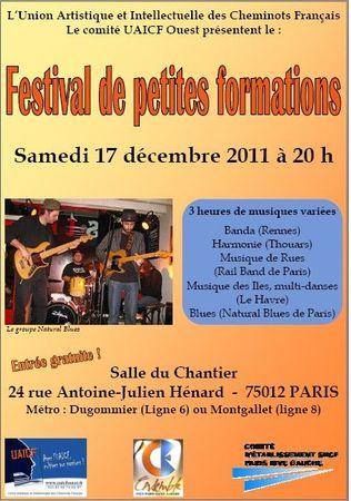 Festival petites formations Ouest-affiche
