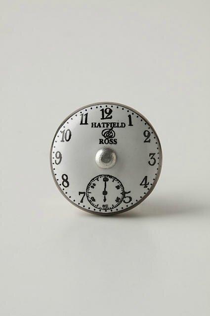 poignée chrono peinte