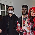 Halloween ....les loups-garou sont passes chez nous ....
