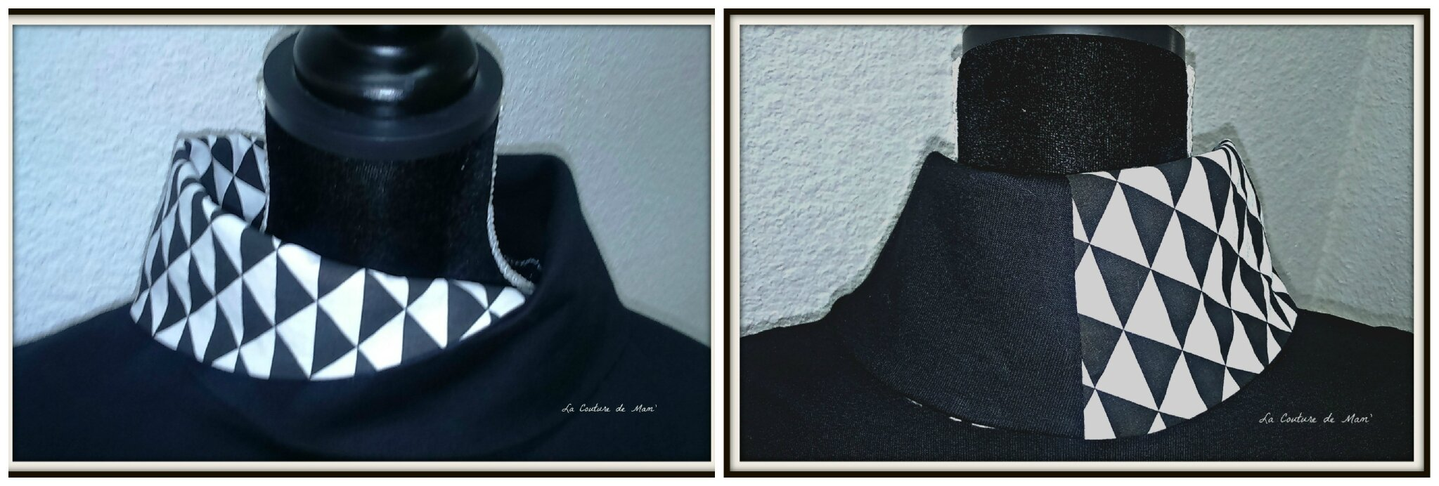 Noir et blanc, premier sweat ARISTO !