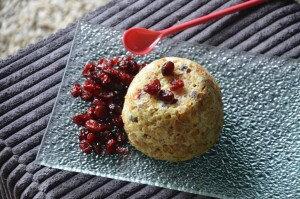Bowl cake aux cranberries