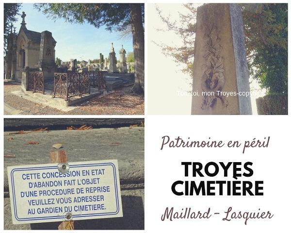 TROYES Cimetière_les chapelles en péril_Famille Maillard Lasquier
