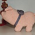 Nouvel an chinois du cochon de terre