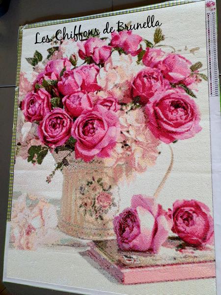Diamond Bouquet de Pivoines 17