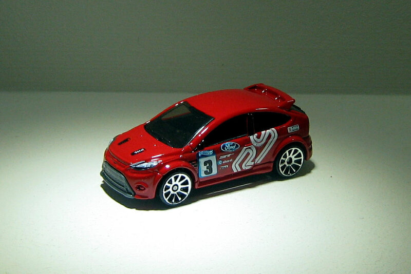 Ford focus RS de 2009 (Hotwheels 2012)