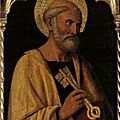 Personne et fonction. exemple de la distinction : personne de pierre (ou du pape) / fonction pétrine.