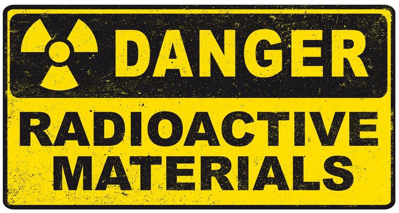 radioactive material zombie usé