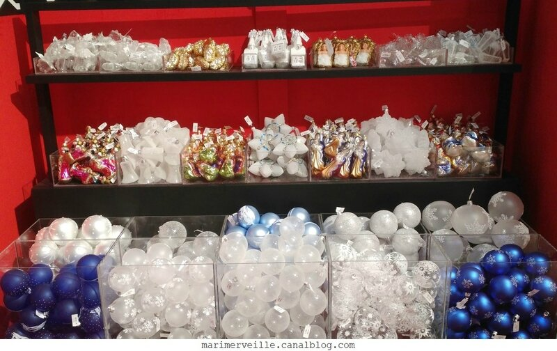 décorations de Noël Monts enneigés 15 -le bon marché - marimerveille