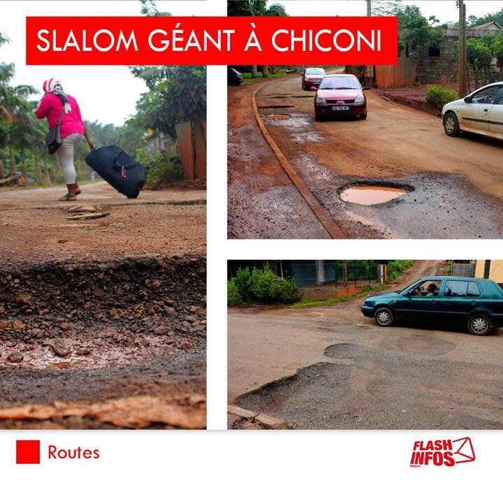 chiconi potholes